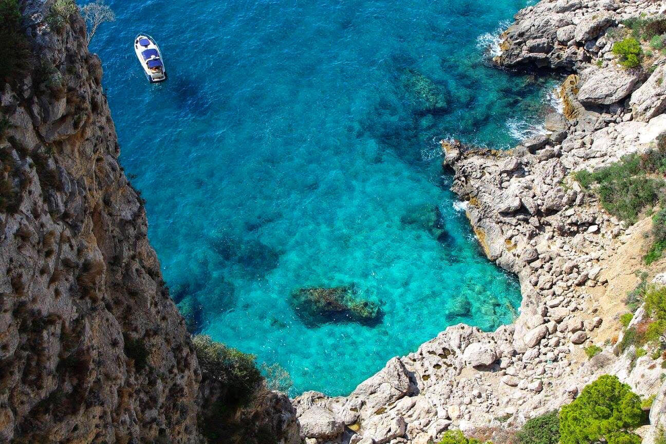 view from capri italy